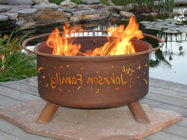 Image of Personalized Fire Pit Custom Fire Pits Etsy