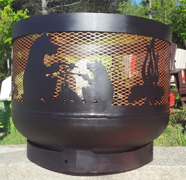 Image of Propane Tank Fire Pit Home And Backyard Fire Pits The End End Of And Propane Tanks
