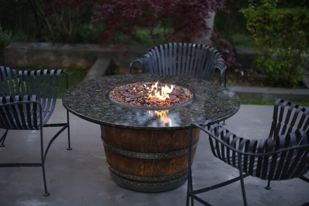 Image of Wine Barrel Fire Pit Table 30 Best Images About Fire Pit Ideas On Pinterest Vineyard Wine