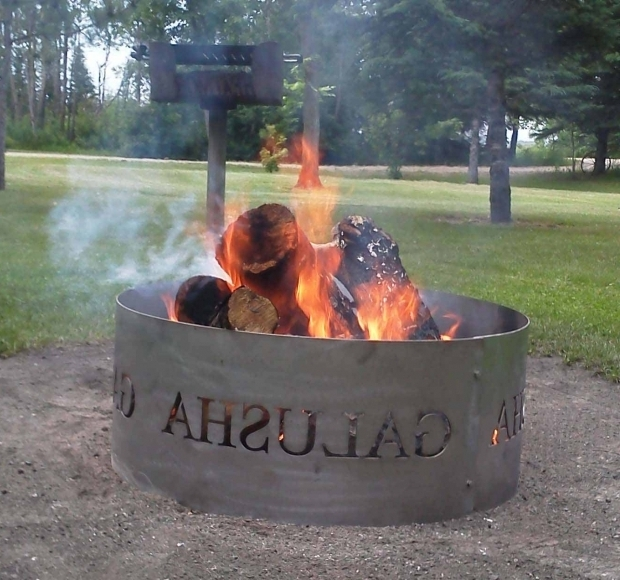 Incredible Personalized Fire Pit Custom Fire Pit Rings Best Way Wood Heat