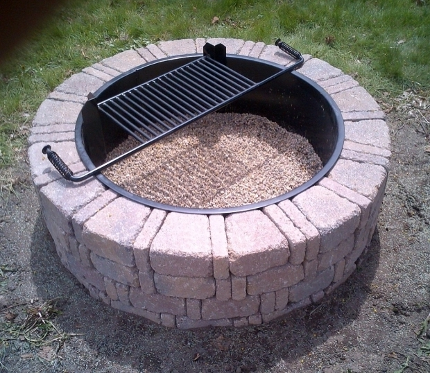 incredible steel ring for fire pit how to make a brick firepit ring amazing homes