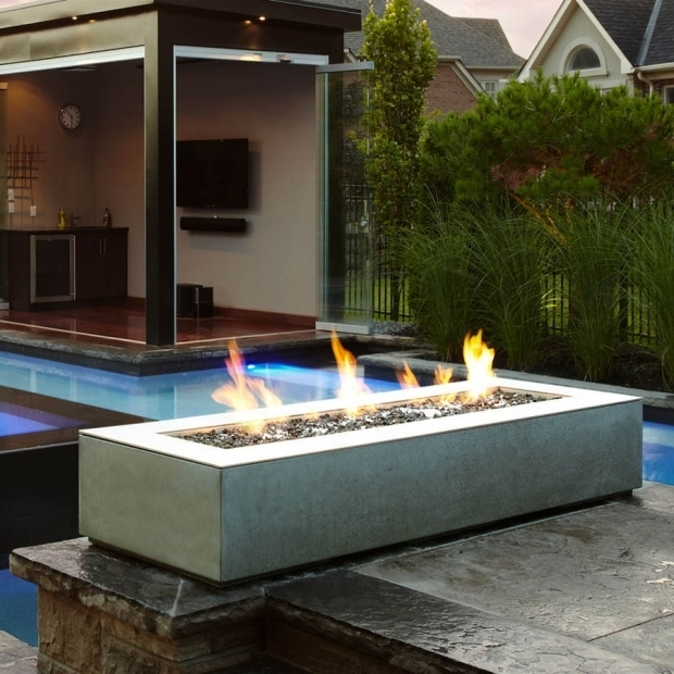 Inspiring Paloform Fire Pit Paloform Robata Modern Rectangular Concrete Outdoor Fire Pit