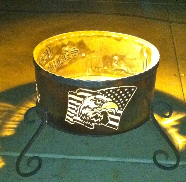 Inspiring Personalized Fire Pit Custom Fire Pits Personalized Firepits Native Designs