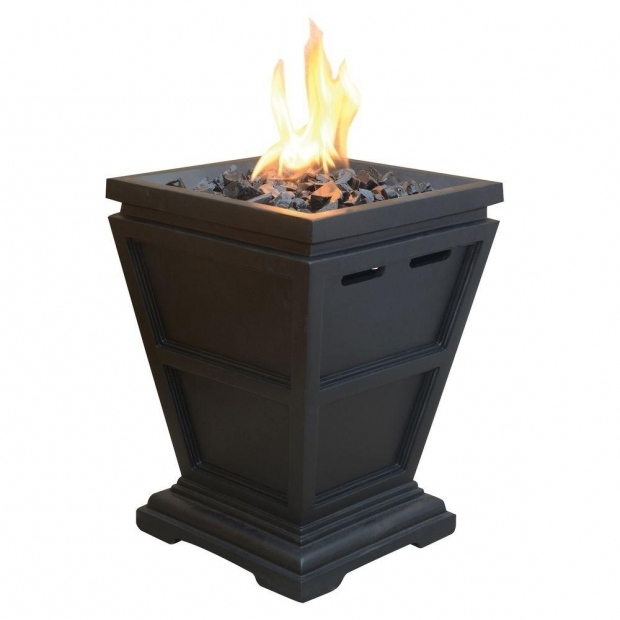 Inspiring Small Gas Fire Pit Uniflame Tabletop 105 In X 105 In Propane Gas Fire Pit