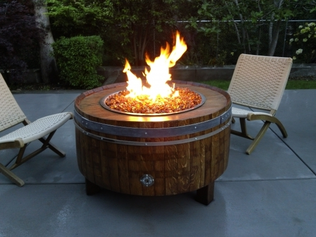 Inspiring Wine Barrel Fire Pit Table Lpgasfirepitdyi Shop Wine Barrel Fire Pits Sonoma