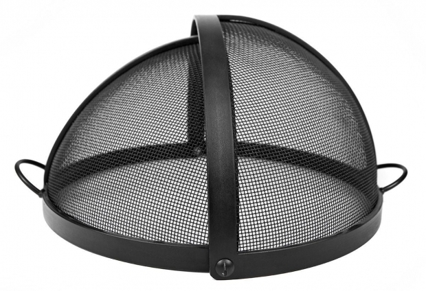 Marvelous Fire Pit Screen Cover Round Fire Pit Screen Cover With Pivot Door Heavy Duty Hitnet