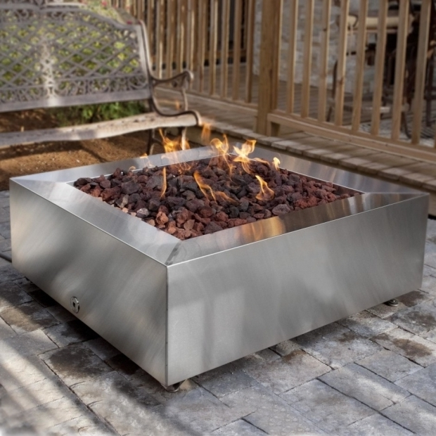 Marvelous Large Gas Fire Pit Patio Ideas Gas Fire Pit Kits With Round Fire Pit Shaped And