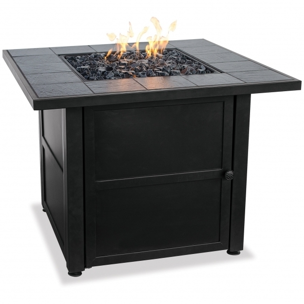 Outstanding Blue Rhino Propane Fire Pit Blue Rhino Uniflame Ceramic Tile Lp Gas Fire Pit Table Reviews