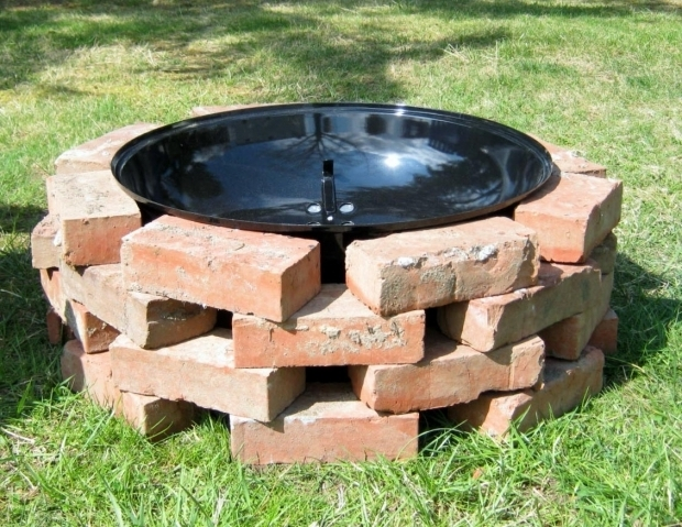 Outstanding Diy Brick Fire Pit How To Build A Brick Fire Pit Grill Fire Pit Design Ideas