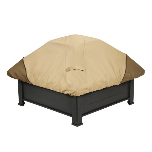 Outstanding Fire Pit Covers Square Classic Accessories Veranda Square Fire Pit Cover 71942 The Home