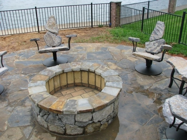 Outstanding Fire Pit Sets With Seating Outdoor Fire Pit Chairs Antique Outdoor Furniture Style