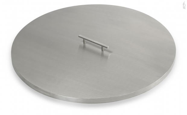 Outstanding Metal Fire Pit Covers American Fireglass Cv Rsp Stainless Steel Round Drop In Pan Covers