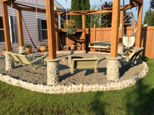 Outstanding Porch Swing Fire Pit Porch Swings Fire Pit Circle Porch Swings Patio Swings