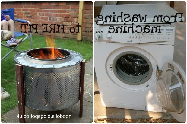 Outstanding Washing Machine Drum Fire Pit Making A Fire Pit From Washing Machine Drum Anyone Made One