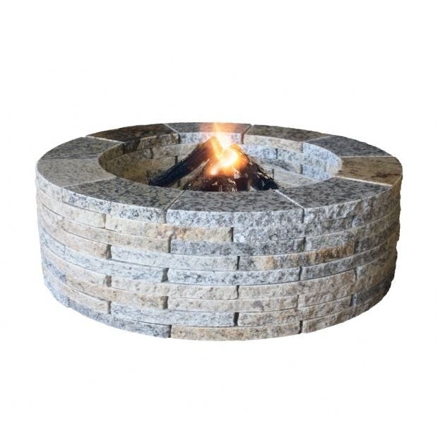 Picture of Stone Wood Burning Fire Pit Natural Concrete Products Co Granite Stone Wood Burning Fire Pit