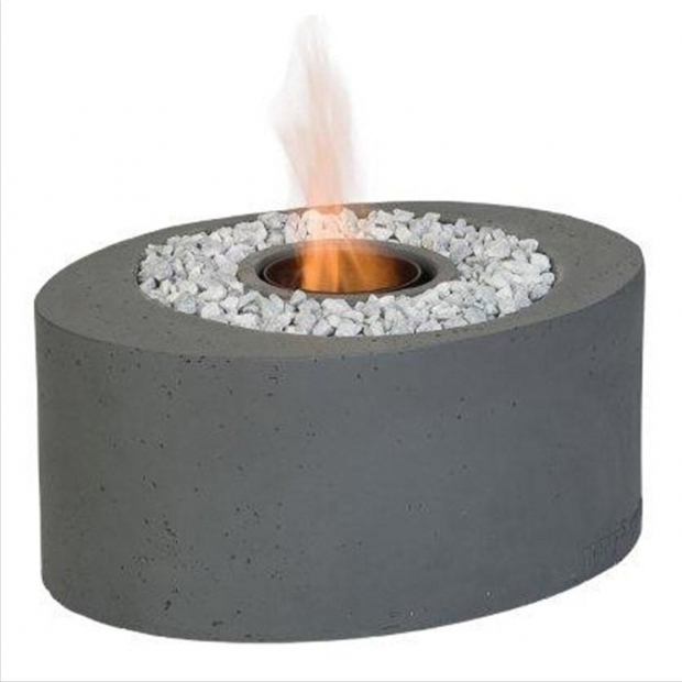 Remarkable Ethanol Fire Pit Cocoon Mini Oval Bio Ethanol Firepit Table Internet Gardener