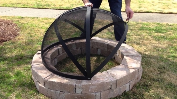 Remarkable Fire Pit Screen Cover Hamptons Buzaar 40 Fire Pit Spark Screen Youtube