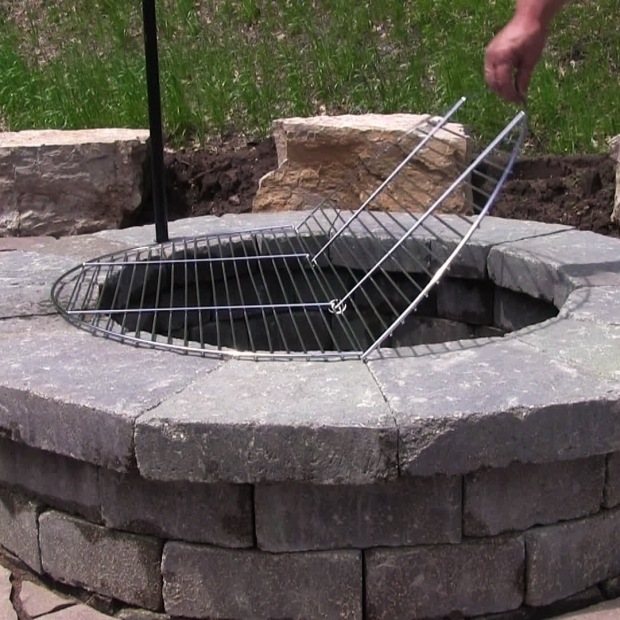Stunning Grill Grate For Fire Pit For Large Outdoor Fire Pit Round Grill Cooking Grate 19 24 30 34