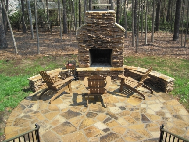 Stunning Outdoor Fire Pit With Chimney Firepit Archadeck Of Charlotte