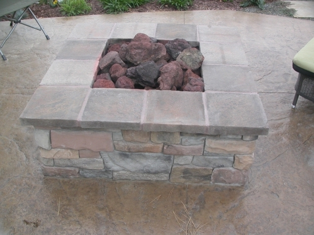 Stylish Diy Square Fire Pit Square Fire Pit Plans Diy Pinterest Fire Pits Image