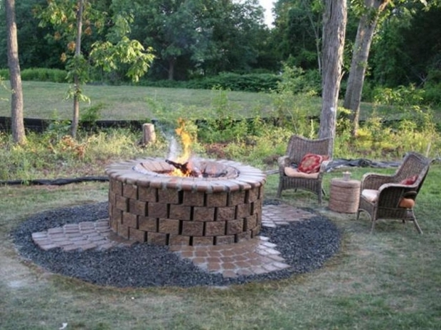 Stylish Fire Pit Area Ideas Brick Fire Pit Design Ideas Hgtv