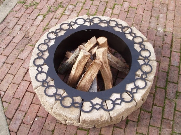 Stylish Fire Pit Liners Firepit Liner