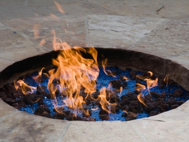Stylish Large Gas Fire Pit Propane Vs Natural Gas For A Fire Pit Hgtv