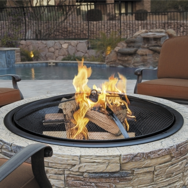 Stone Wood Burning Fire Pit