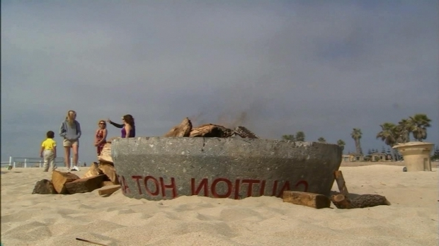 Wonderful Balboa Beach Fire Pits Beach Fire Pits Restrictions Approved On Fire Pits Abc7