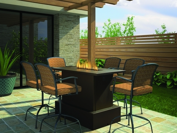 Wonderful Bar Height Fire Pit Table Set Beautiful Bar Height Fire Pit Table 54 On Home Design Ideas With