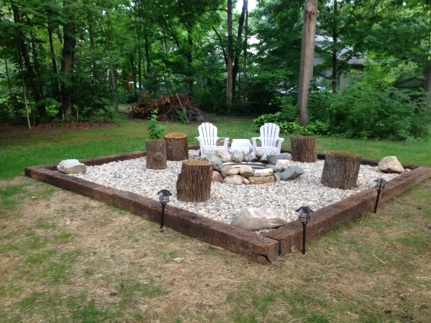 Wonderful Homemade Fire Pit Ideas 25 Best Ideas About Rock Fire Pits On Pinterest River Rock