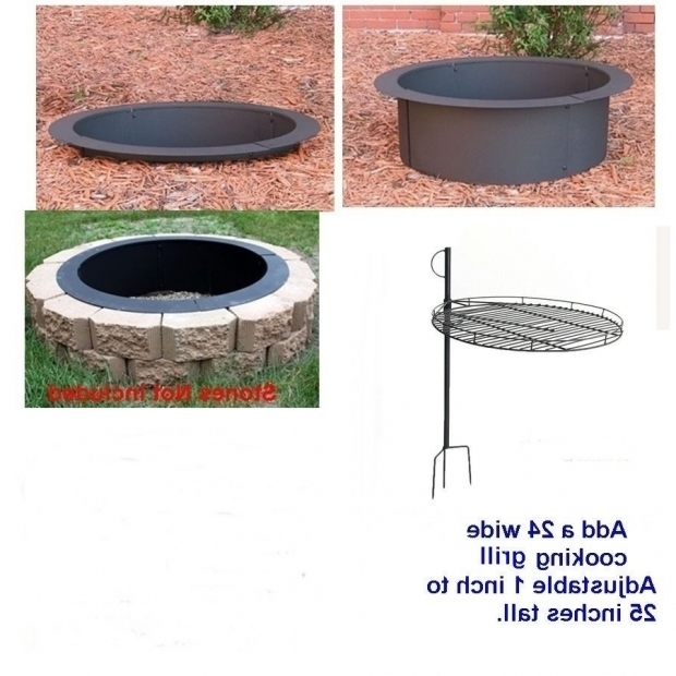 Alluring 24 Inch Fire Pit Bowl Replacement Fire Pit Kit Ebay