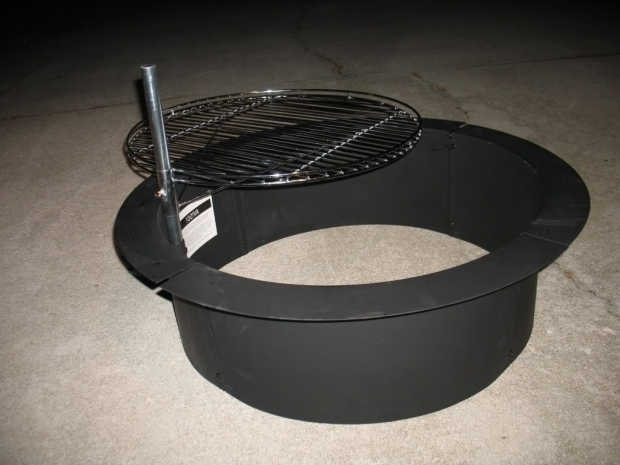 Alluring Fire Pit Insert Ring Wwwcamp Cook View Topic Firepit Questions