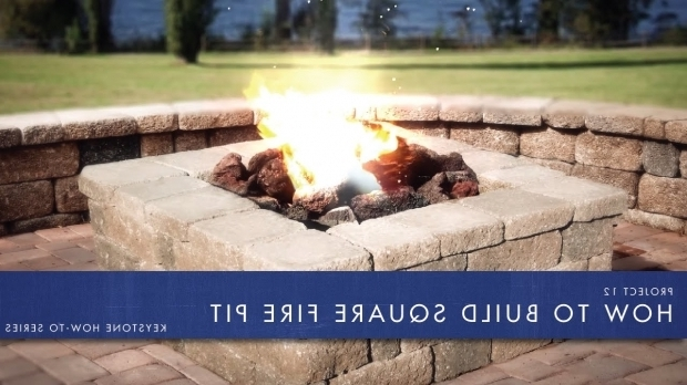 Amazing How To Build A Square Fire Pit Khts Project 12 How To Build A Square Fire Pit Youtube