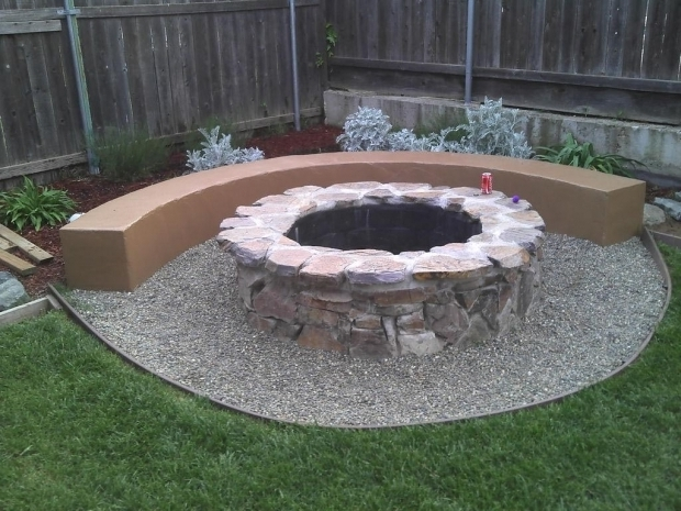 Amazing How To Make A Backyard Fire Pit How To Build A Fire Pit