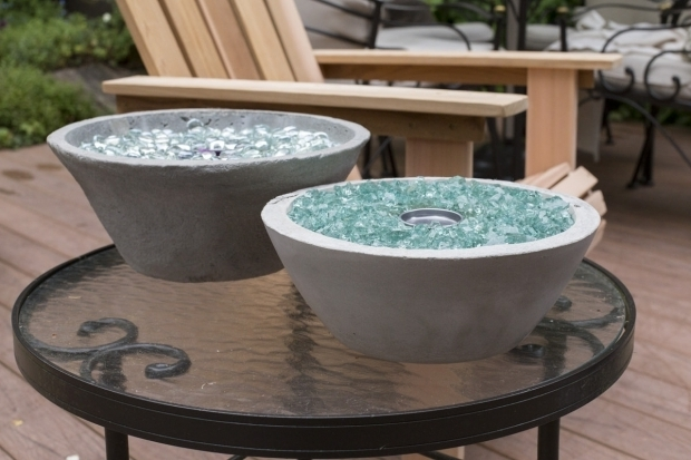 Awesome Diy Glass Fire Pit How To Make A Tabletop Fire Pit Home Improvement Projects To
