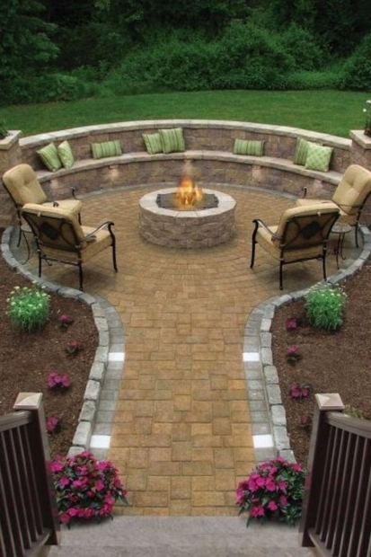 Beautiful Backyard Designs With Fire Pits 25 Best Ideas About Backyard Fire Pits On Pinterest Fire Pits