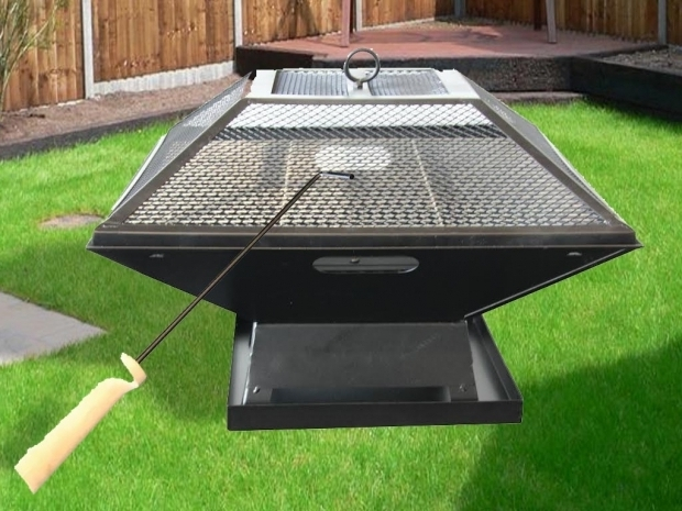 Fire Pit And Grill Combination