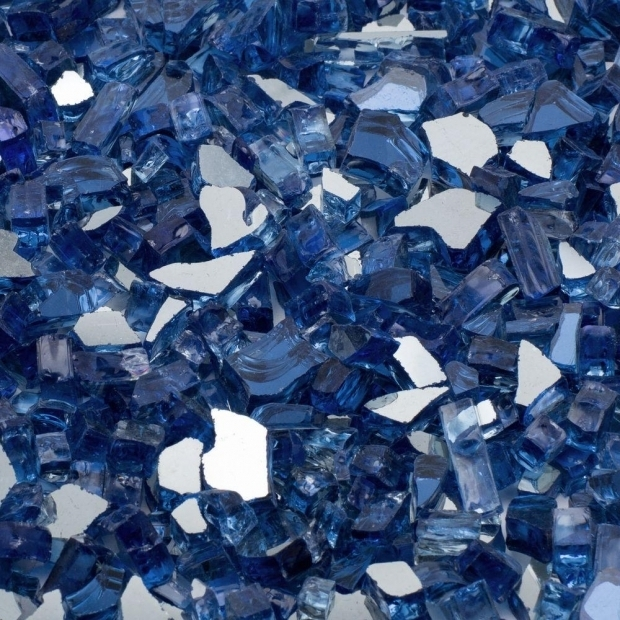 Beautiful Fire Pit Glass Home Depot Margo Garden Products 14 In 25 Lb Cobalt Blue Reflective