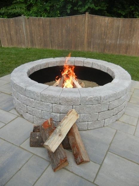 Delightful Retaining Wall Block Fire Pit Fire Pit Retaining Wall Blocks Fire Pit Design Ideas