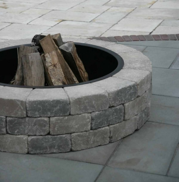 Delightful Unilock Fire Pit Fire Pit Kits Great Selection Of Fire Pit Kits