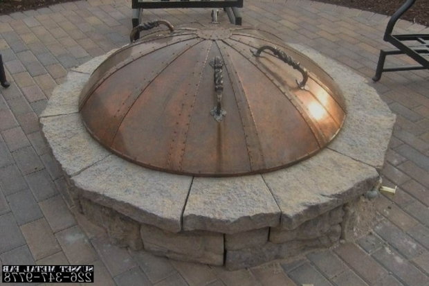 Fantastic Fire Pit Covers Round Is Your Fire Pit Missing A Cover Why You Need One And What To