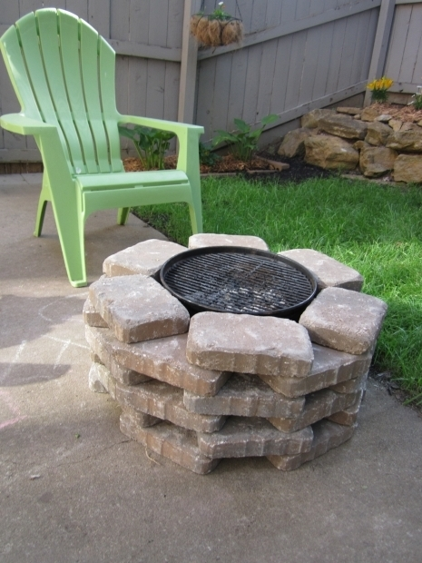Fascinating Fire Pit And Grill Combination A Diy Firepit And Grill Combo
