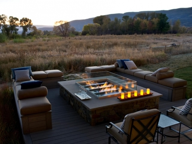 Fascinating Gas Fire Pits For Decks Deck Gas Fire Pit Fire Pit Design Ideas