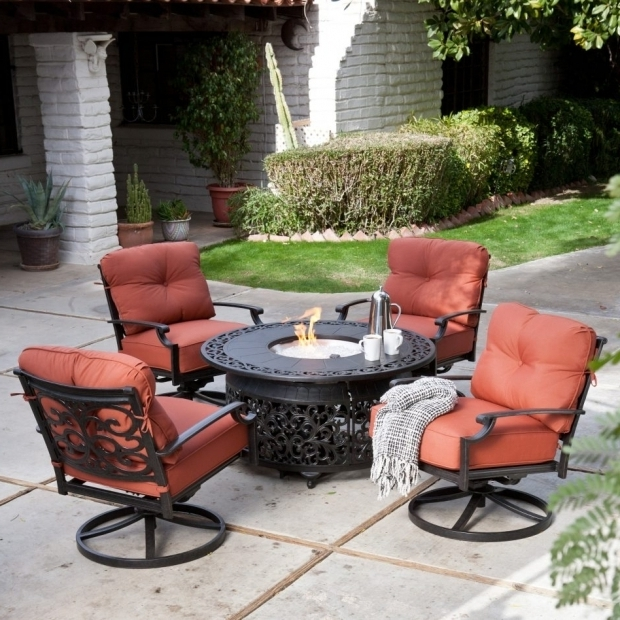 Fascinating Sears Fire Pit Furniture Patio Furniture Conversation Sets With Fire Pit Ongek