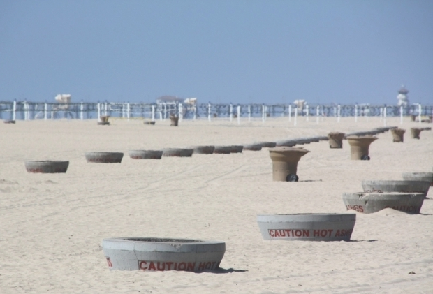 Fascinating What Beaches Have Fire Pits Huntington Beach Fire Pits Nicetravelideas
