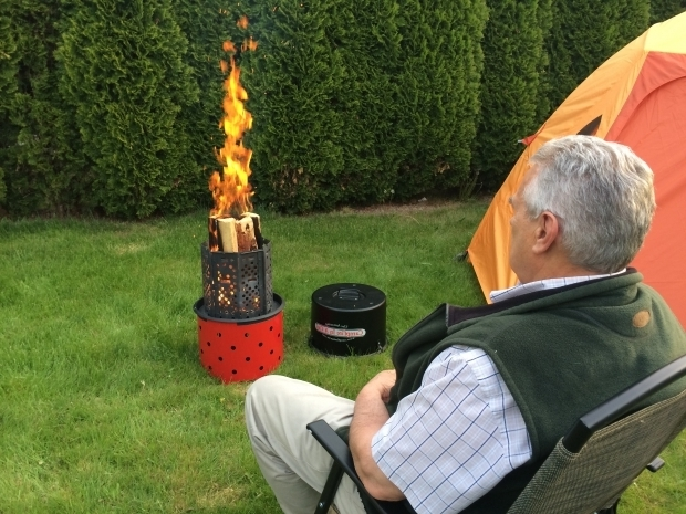 Gorgeous Portable Fire Pit For Camping New Product Launch Campfire In A Can An Innovative Wood Burning