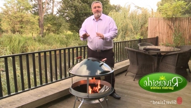 Gorgeous Weber Fire Pit Product Demonstration Video The Weber Firepit Fireplace
