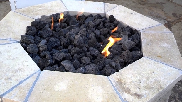 Image of Fire Pit Lava Rocks Fire Pit Lava Rock Adjustmernt Youtube