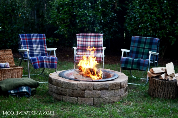 Image of Handmade Fire Pit How To Build A Fire Pit